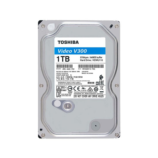 Ổ CỨNG 1TB TOSHIBA VIDEO STREAMING