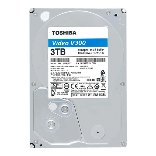 Ổ CỨNG 3TB TOSHIBA VIDEO STREAMING