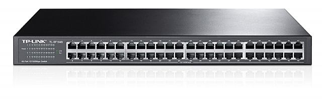 Switch TP Link 48 port 100Mpbs